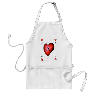 Delantal El as de corazones de Tony Fernandes