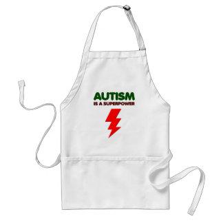 Delantal El autismo es superpoder, niños, niños, importa de