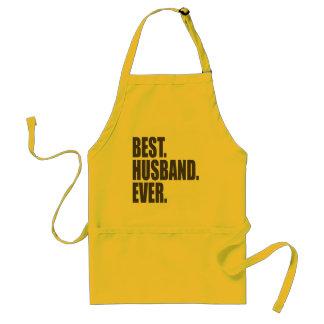 Delantal El mejor. Marido. Nunca