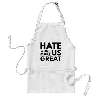 Delantal El odio no hará los E.E.U.U. grandes