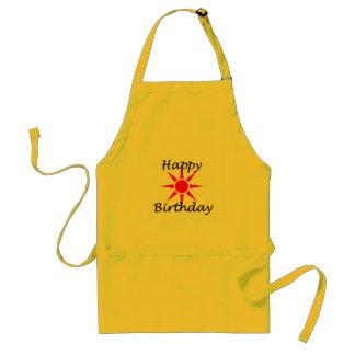 Delantal Feliz cumpleaños