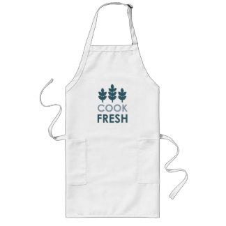 Delantal fresco del cocinero
