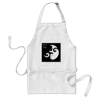 Delantal Gatitos de Yin Yang