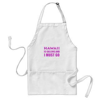 Delantal Hawaii está llamando y debo ir