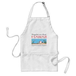 Delantal Hawaii por Harrop-T-b