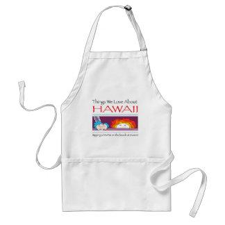 Delantal Hawaii por Harrop-T-c