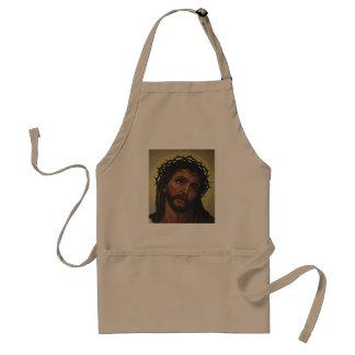 DELANTAL  IMAGEN DE JESÚS QUE COCINA APARREL
