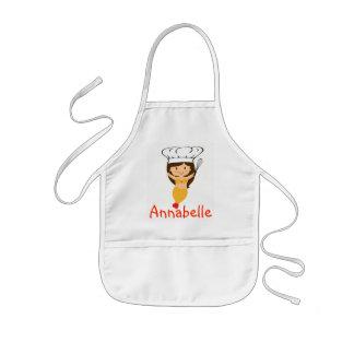 Delantal Infantil El cocinero de la sirena de la calabaza