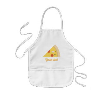 Delantal Infantil Fiesta de cumpleaños de la pizza