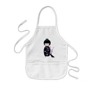 Delantal Infantil Muñecas asiáticas