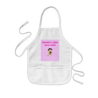 Delantal Infantil Poco cocinero de Sous de la mamá