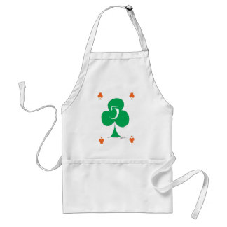 Delantal Irlandés afortunado 5 de los clubs, fernandes tony