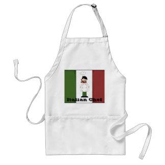 Delantal italiano del cocinero #5