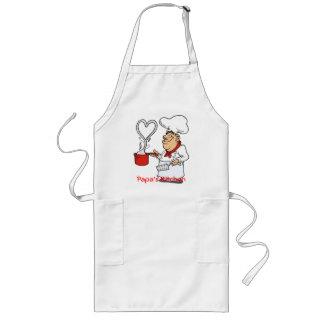Delantal--La cocina de la papá Delantal Largo