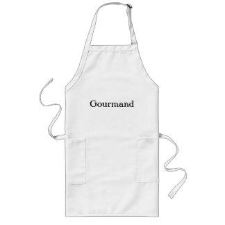 Delantal largo del Gourmand