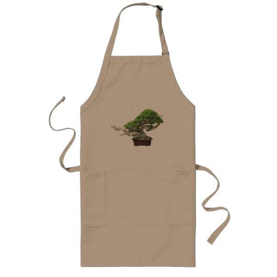 Delantal Largo masahiko kimura bonsai master 木村 正彦