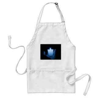 Delantal Llama azul