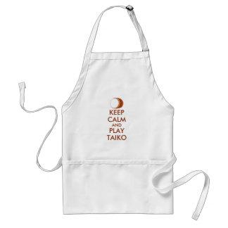 Delantal Los regalos de Taiko guardan personalizado del