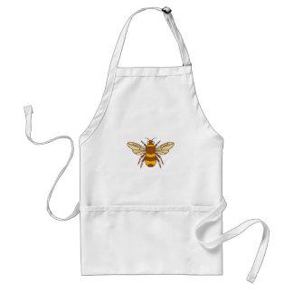 Delantal Manosee el icono de la abeja