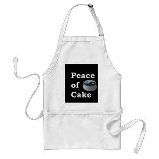 Delantal Más zen cualquier cosa refranes - paz de la torta