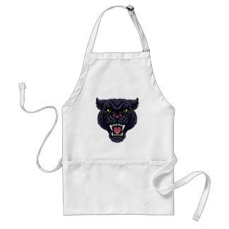 Delantal Mascota de la pantera negra