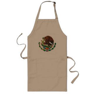 Delantal mexicano del escudo de armas