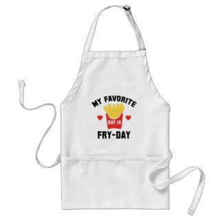 Delantal Mi día preferido es Fritada-Día