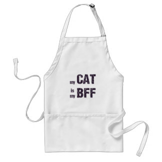 Delantal Mi gato es mi BFF