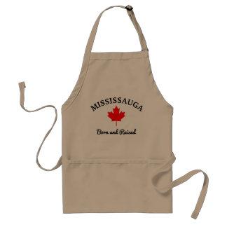 Delantal Mississauga, Canadá - llevado y aumentado