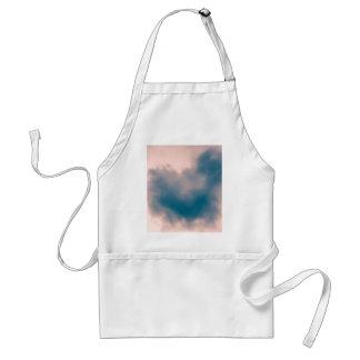 Delantal Nube en forma de corazón