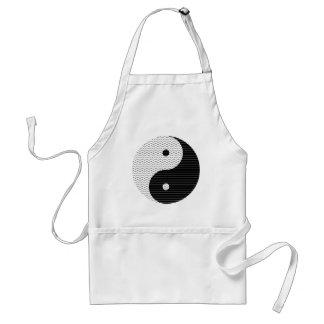 Delantal Ondas de Yin Yang