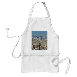 Delantal Panorama de Nápoles