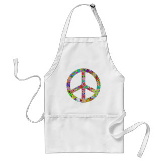 Delantal peace11