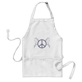 Delantal peace4