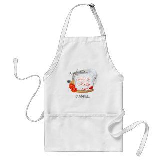 Delantal personalizado del maestro cocinero de la