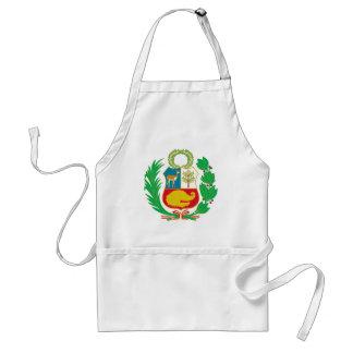 Delantal Perú - escudo Nacional (emblema nacional)