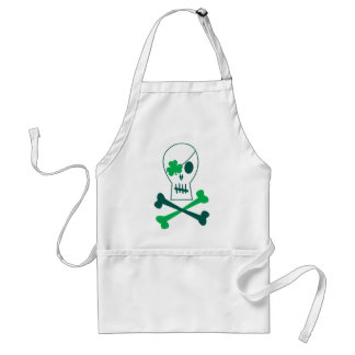 Delantal Pirata del día de St Patrick