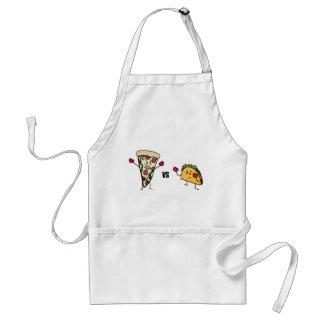 Delantal Pizza de salchichones CONTRA el Taco: Mexicano