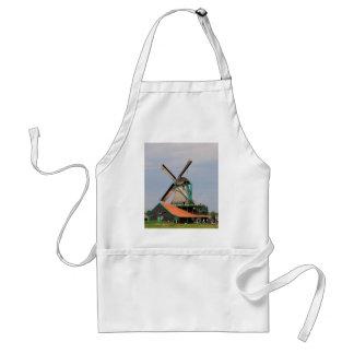 Delantal Pueblo holandés del molino de viento, Holanda 3