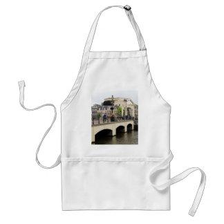 Delantal Puente flaco, Amsterdam, Holanda