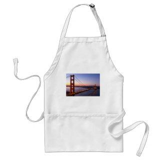 Delantal Puente Golden Gate San Francisco en la salida del