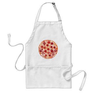 Delantal puntos de la pizza