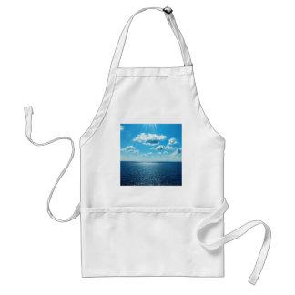 Delantal Rayos sobre el mar