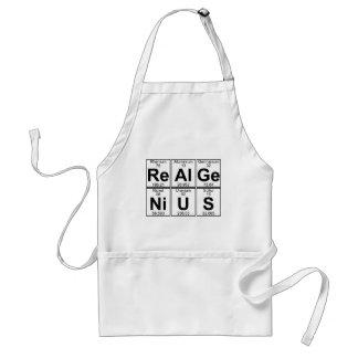 Delantal Re-Al-GE-Ni-U-s (genio real) - por completo