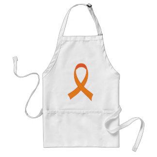 Delantal Regalo anaranjado personalizado de la conciencia