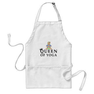 Delantal reina de la yoga