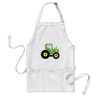 Delantal Tractor verde del juguete