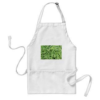Delantal Veggie verde orgánico Vegitarian de las habas