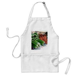 Delantal verduras