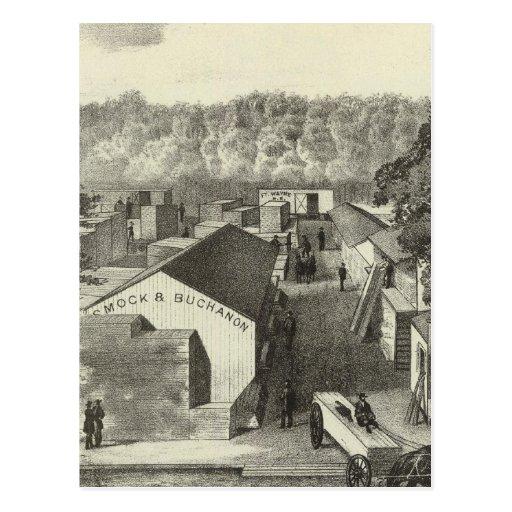 Delantal y Buchanon, distribuidores autorizados de Postales